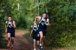 southern prep cross country runners