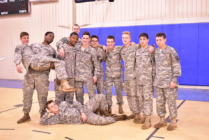 cadet group photo