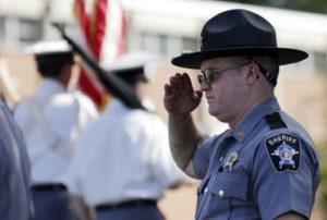 saluting sheriff