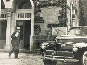 lyman ward and his car