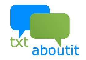 txt about it logo