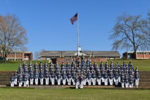 southern prep cadet class photo